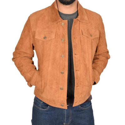Tips to Wear A Suede Brown Jacket