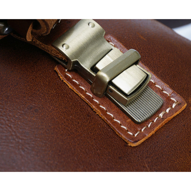 Real Leather Cross Body Shoulder Bag Multi Use Camera Organiser Bussell Tan Feature 3