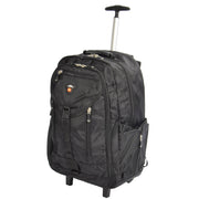 Cabin Size Wheeled Backpack Hiking Camping Travel Bag Olympus Black