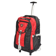 Cabin Size Wheeled Backpack Hiking Camping Travel Bag Olympus Red