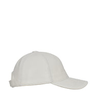 Genuine Leather Baseball Cap Sports Casual Viper White Side