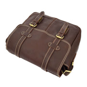 Real Leather Cross Body Shoulder Bag Multi Use Camera Organiser Bussell Brown Letdown