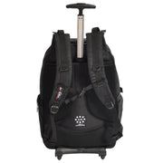 Cabin Size Wheeled Backpack Hiking Camping Travel Bag Olympus Black Back 1
