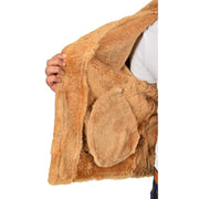 Authentic Aviator Coat Real Sheepskin Vintage Tan Bomber Jacket Tornado Lining