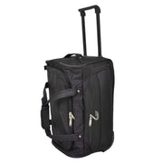 Travel Duffle Bag Lightweight Wheeled Holdall Weekend Cabin Bag Darwin Black 7