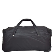 "Travel Duffle Bag 28"" Lightweight Wheeled Holdall Weekend Bag Marco Black 3"