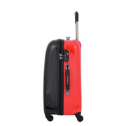 Tough Hard Shell Suitcase Big Heart 4 Wheel Luggage TSA Lock Bags Medium 3