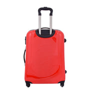 Tough Hard Shell Suitcase Big Heart 4 Wheel Luggage TSA Lock Bags Medium 4