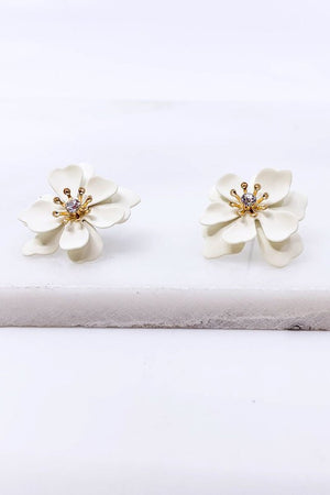 Floral Post Earrings