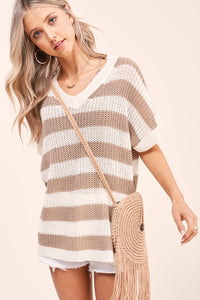 Matin Sweater- Taupe