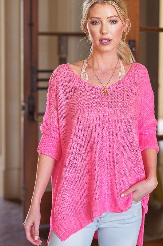 Ultra Pink Luxe Sweater