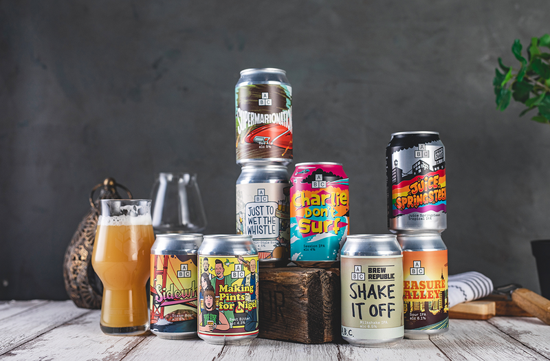 Classy cans – the art of the craft beer can