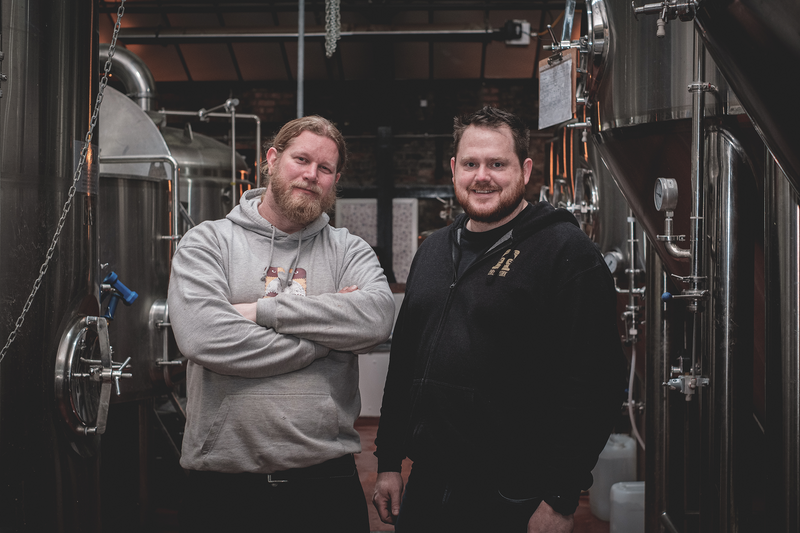 Founders of Brew York, Lee Grabham and Wayne Smith