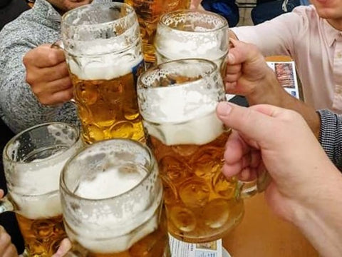 steins of beer