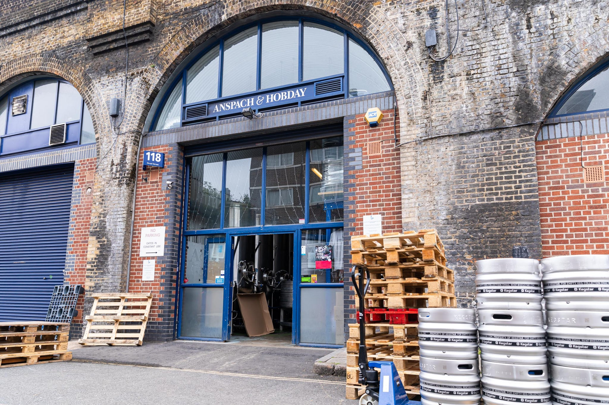 Enjoy a cream ale at the Anspach & Hobday tap room in Bermondsey