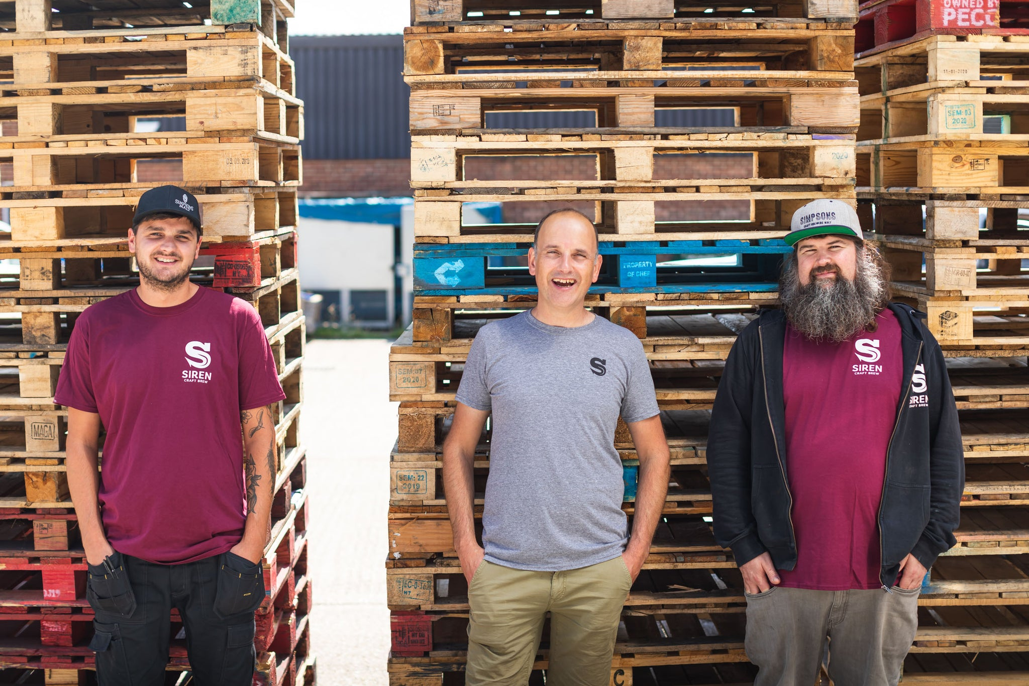 Meet the Siren brewery – Darren Anley and the brewers at Siren Craft Brew
