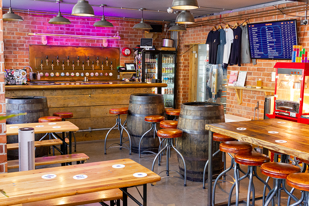 Mondo Brewing Tap room - Craft Beer in Battersea