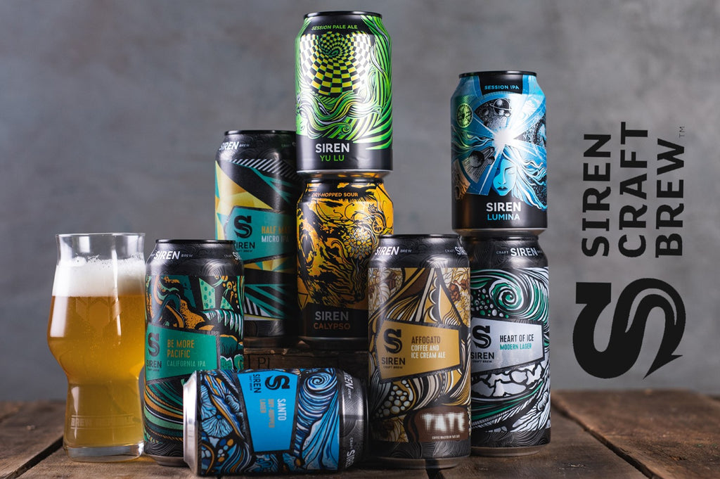 Siren Craft Brew range of beers