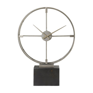Uttermost Janya Contemporary Table Clock 06447