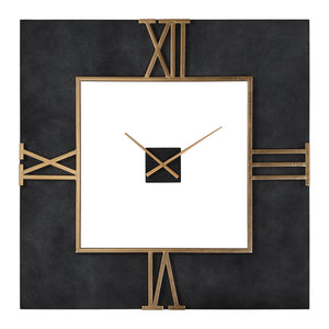 Uttermost Mudita Square Wall Clock 06448