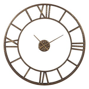Uttermost Mylah Gold Wall Clock 06456