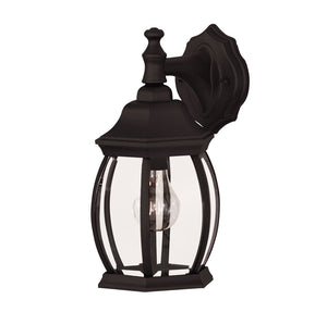 Exterior Collection 1 Light Outdoor Wall Lantern in Black Finish by Savoy House 07069-BLK