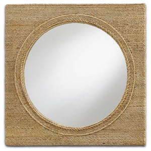 Tisbury Small Mirror by Currey and Company 1000-0004