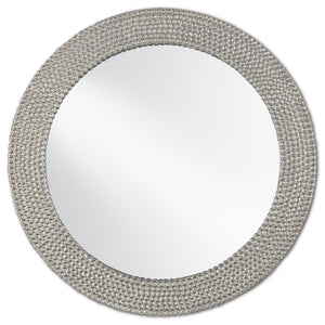 Rogan Silver Mirror by Currey and Company 1000-0065