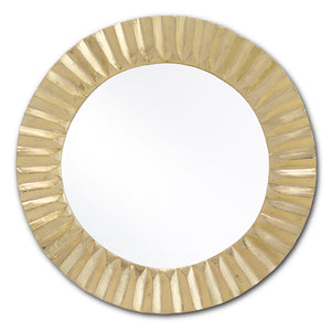 Carla Gold Small Mirror by Currey and Company 1000-0066