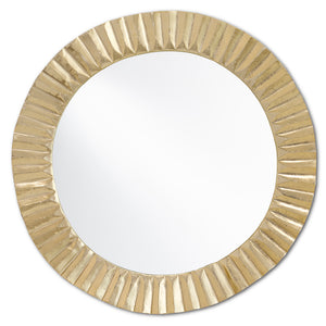 Carla Gold Large Mirror by Currey and Company 1000-0067