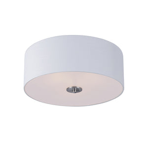 Maxim Lighting 10010WLSN Bongo-Flush Mount in Satin Nickel