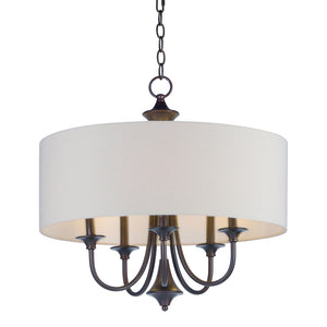 Maxim Lighting 10015OMOI Bongo-Multi-Light Pendant in Oil Rubbed Bronze