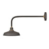 Foundry Classic Outdoor Wall Mount by Hinkley 10322MR Museum Bronze