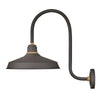 Foundry Classic Outdoor Wall Mount by Hinkley 10473MR Museum Bronze