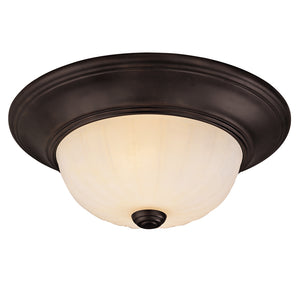 Flush Mount 2 Light Flush Mount  in English Bronze Finish by Savoy House 11264-13