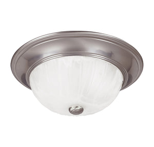 Flush Mount 2 Light Flush Mount  in Satin Nickel Finish by Savoy House 11264-SN