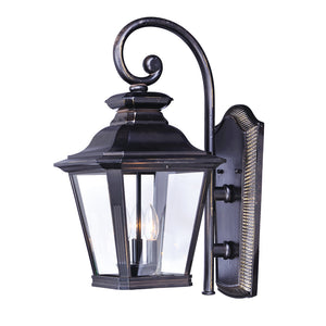 Maxim Lighting 1135CLBZ Knoxville 3-Light Outdoor Wall in Bronze Finish