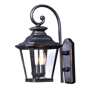 Maxim Lighting 1137CLBZ Knoxville 3-Light Outdoor Wall in Bronze Finish