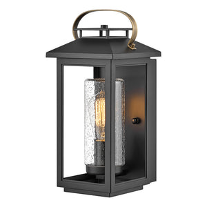 Atwater Outdoor Wall Mount by Hinkley 1160BK Coastal Elements Black