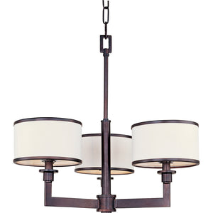 Maxim Lighting 12054WTOI Nexus-Mini Chandelier in Oil Rubbed Bronze