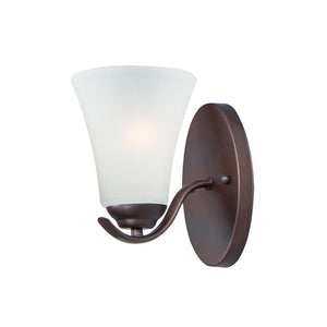 Vital 1 Light Bathroom Vanity in Oil Rubbed Bronze Finish by Maxim Lighting 12081FTOI