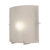 PLC Lighting 12108 PC Contempo Collection 1 Light Sconce in Polished Chrome Finish