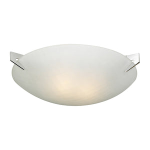 PLC Lighting 12144 PC Contempo Collection 2 Light Ceiling in Polished Chrome Finish