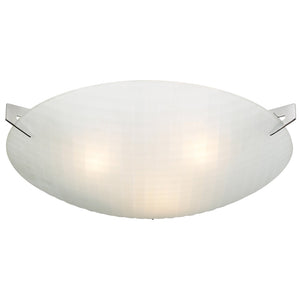 PLC Lighting 12146 PC Contempo Collection 3 Light Ceiling in Polished Chrome Finish