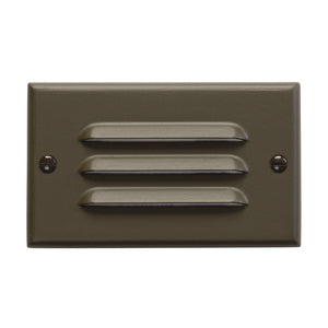 LED Light LED Step Lights in Architectural Bronze Finish by Kichler 12600AZ