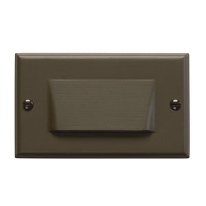 LED Light LED Step Lights in Architectural Bronze Finish by Kichler 12602AZ