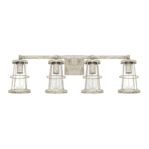 Capital Lighting Beaufort 127441MS 4 Light Bathroom Vanity Fixture in Mystic Sand