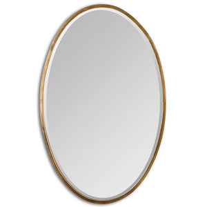 Uttermost Herleva Gold Oval Mirror 12894