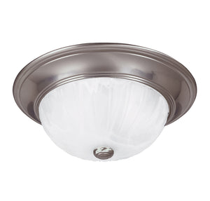 Flush Mount 2 Light Flush Mount  in Satin Nickel Finish by Savoy House 13264-SN