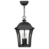 Wabash Outdoor Pendant by Hinkley 1332MB Museum Black
